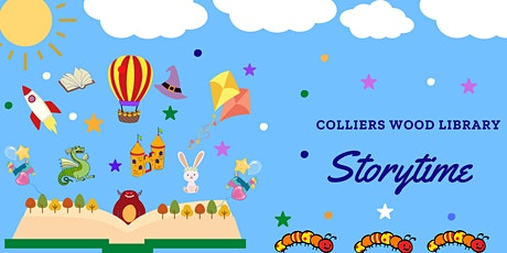 Colliers Wood Library - Sian's Saturday Story Time (Under 5's) tickets