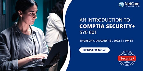 An Introduction to CompTIA Security+ SY0 601 tickets