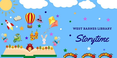 West Barnes Library Storytime tickets
