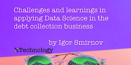 Applications of Data Science: use-case in debt collection tickets