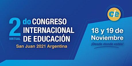 2do Congreso Internacional de Educación San Juan 2021 entradas