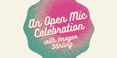 Book Week Scotland: Open Mic Celebration! tickets