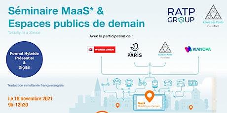 MAAS & ESPACES PUBLICS DE DEMAIN | CONFERENCE ON MAAS & PUBLIC SPACE billets