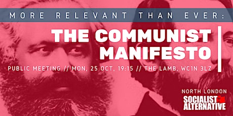 More Relevant Than Ever: The Communist Manifesto // Public Meeting tickets