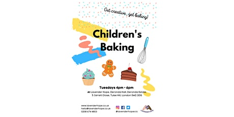 Baking with Lavender Hope tickets