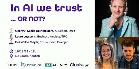In AI we trust ... OR NOT? tickets