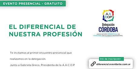 El Diferencial de nuestra Profesión con Gabriela Greco (Presencial) entradas