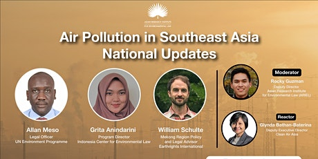 Air Pollution in Southeast Asia: An Update tickets