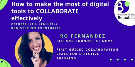 How to make the most of digital tools to COLLABORATE effectively tickets