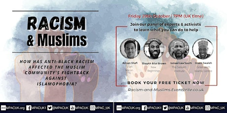 Racism, Muslims, and the fight against Islamophobia tickets