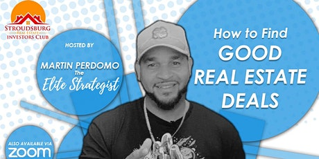 How to Find Good Real Estate Deals tickets