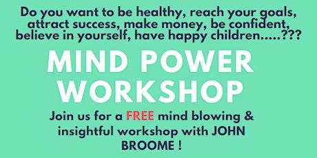 Mind Power Workshop Tickets