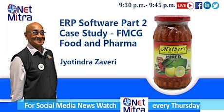 Enterprise Resource Planning - ERP Software Case Study - FMCG tickets