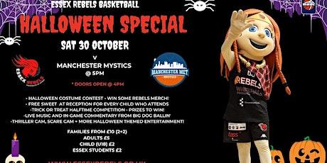 Spooky Hoops Women v Manchester Mystics tickets