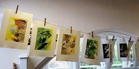 Botanical Monoprinting Workshop  - Find and create art in nature tickets