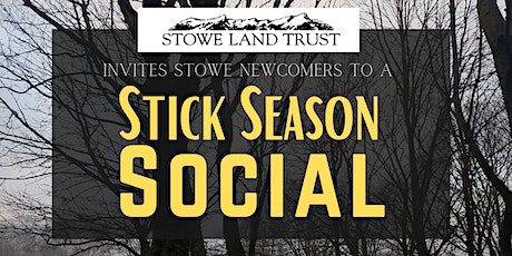 Stick Season Social - Welcoming newcomers to the Stowe community tickets
