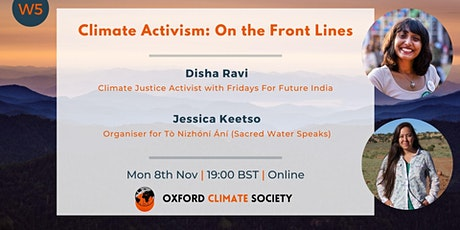Climate Activism: On the Front Lines tickets
