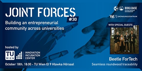 Joint Forces #30 - hosted by TU Wien I²C tickets