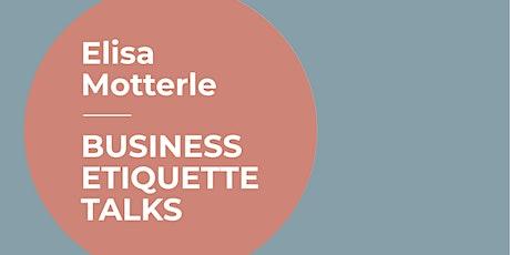 ELISA MOTTERLE - Comunicazione Professionale biglietti