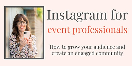 Instagram for Event Businesses tickets