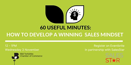 60 Useful Minutes - How to Develop a Winning Mindset to Help You Sell More tickets