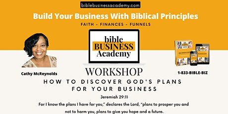 How To Discover God's Plans For Your Business tickets