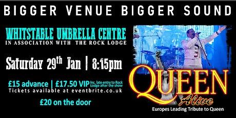 Queen Alive (Queen Tribute) Live in Whitstable tickets