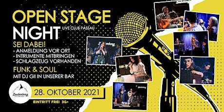 Open Stage Night • Zauberberg Passau Tickets