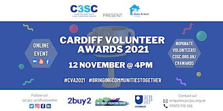 Cardiff Volunteer Awards 2021 tickets