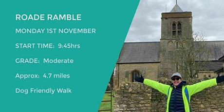 ROADE CIRCULAR TRAIL | 5 MILES | MODERATE | NORTHANTS tickets