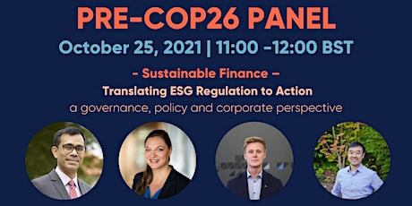 What will happen at COP26? tickets