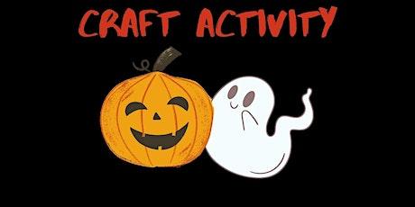 Halloween Craft Activity tickets