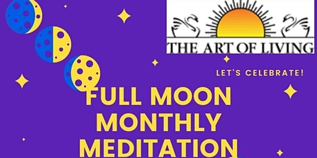 Let's Energize & Inspire Ourselves from this Full Moon Monthly Meditation tickets
