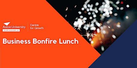 Business Bonfire Lunch tickets