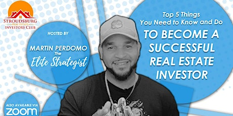 Things You Need to Know and Do to be a Successful Real Estate Investor tickets