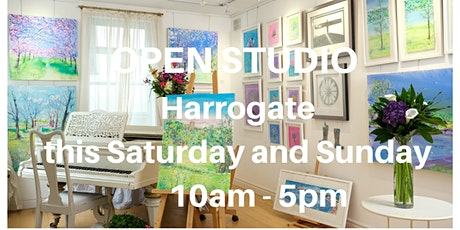 Open Studio and Gallery Weekend of Yorkshire Artist Anita Bowerman tickets