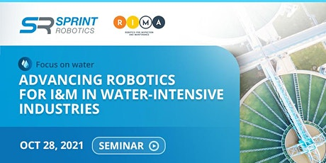 Focus on water:  Advancing Robotics for I&M in Water-intensive Industries tickets