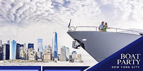 #1 New York City Booze Cruise - Saturday Night Boat Party tickets