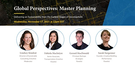Global Perspectives: Master Planning tickets