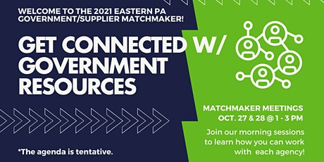 Eastern PA Government/Supplier Matchmaker (Virtual) tickets