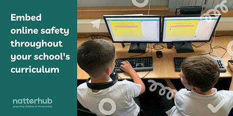 Embed online safety throughout your curriculum tickets