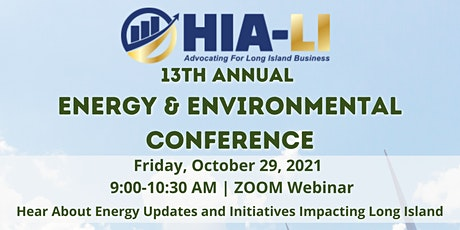 HIA-LI's 13th Annual Energy Conference tickets