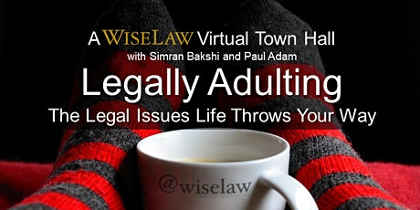 Legally Adulting Online: The Legal Issues Life Throws Your Way (Free Event) tickets