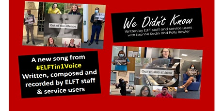 #ELFTin1Voice 'We Didn't Know' Song YouTube Premiere tickets
