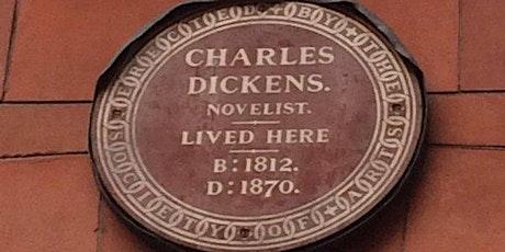Online walking tour of Dickensian London - Furnival's Inn to Doughty Street tickets