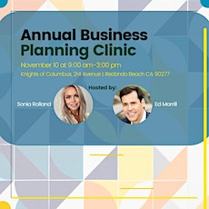 Annual Business Planning Clinic tickets