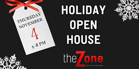 The Zone Holiday Open House tickets