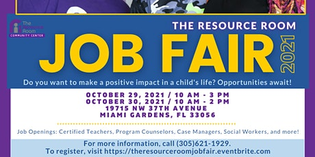 The Resource Room Job Fair tickets