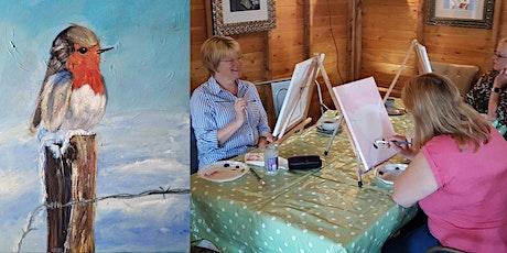 'Robin'  Christmas painting workshop & Afternoon Tea at Sunnybank Hatfield tickets