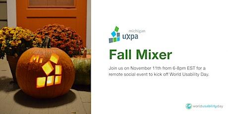 Michigan UX Community Fall Mixer tickets